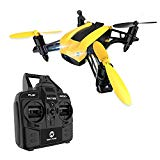 Buy Holy Stone HS150 Bolt Bee Mini Racing Drone RC Quadcopter RTF 2.4GHz 6-Axis Gyro with 50KMH High Speed Headless Mode Wind Resistance Includes Bonus Battery