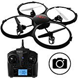 Force1 U818A Discovery RC Drone with Camera – 720p Quadcopter HD Camera Drone w/ SD Card
