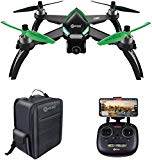 Contixo F20 RC GPS Quadcopter Photography Drone | 5GHz WiFi Transmission 1080p Camera Drone HD, Follow Me, 20 Minute Flight Time, 1-Key Takeoff/Landing Includes Storage Backpack Best Gift