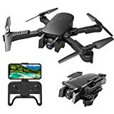 Get Yourself a  MIXI WiFi FPV Drones with Camera for Adults, Foldable RC Quadcopter Drone with 1080P HD Camera for Beginners, Altitude Hold, Gravity Control, Follow Mode, Headless Mode, One Key Take Off/Landing