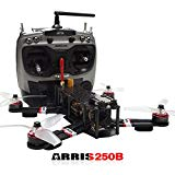 ARRIS X-Speed 250B V3 250 FPV Racing Drone Camera Drone RTF W/ Flycolor Raptor 390 Tower 4-in-1 (30A ESC + F3 + OSD + PDB)